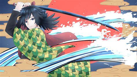 giyu tomioka kimetsu  yaiba   wallpaper