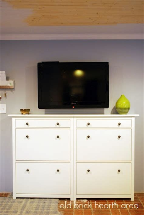 using kitchen cabinets for entertainment center flat screen tv console entertainment center using ikea 9575