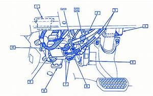 Gm Hatchback 1999 Instrument Panel Electrical Circuit