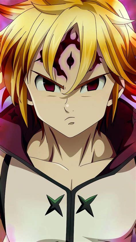 angry anime boy meliodas  wallpaper