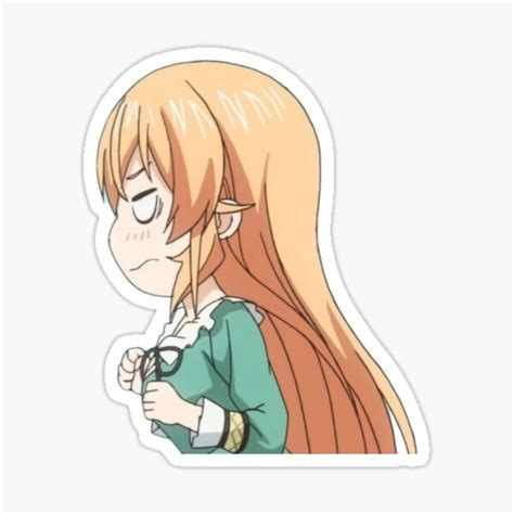 food wars stickers redbubble