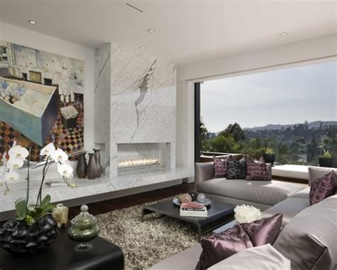 Marble Slab Fireplace Home Design Ideas, Pictures, Remodel And Decor