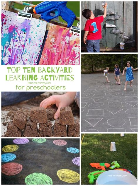 284 best outdoor activities for images on 767 | 4b58108d148d374d04d46fb561ddd8ab outside activities activities for preschoolers