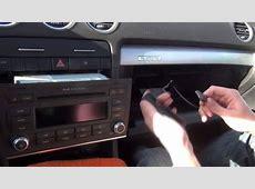Установка адаптера Yatour на Audi A4 S4 Symphony 2006 2007