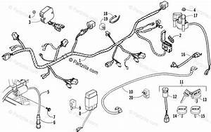 Arctic Cat Atv 2006 Oem Parts Diagram For Electrical And Wiring Harness Assembly