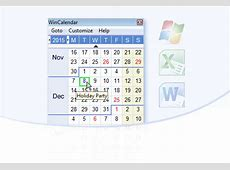 WinCalendar Calendar Maker & Word, Excel, PDF Calendar