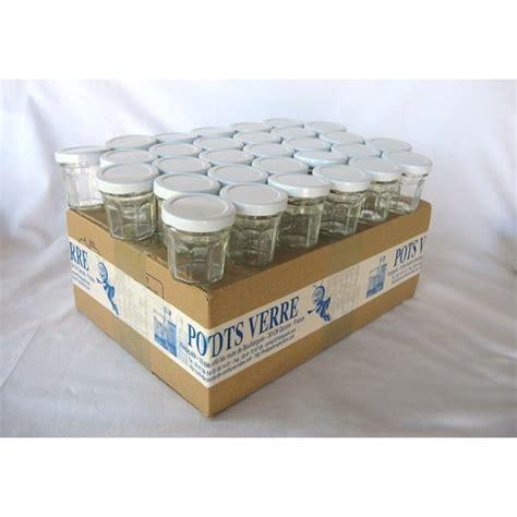 petits pots facettes 44 ml avec couvercle au choix en promotion livraison 72 heures