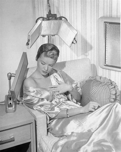 early hair dryers