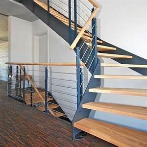 Treppe Handlauf Holz : holztreppen modernisieren bucher treppen das original ~ Watch28wear.com Haus und Dekorationen