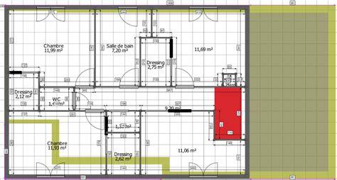 plan de maison 4 chambres avec 騁age surélévation de 70 m sur une maison de 92 m tarn 81 12 messages