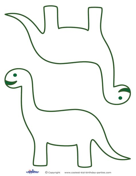 Dinosaur Template Printable Dinosaur Templates Clipart Best