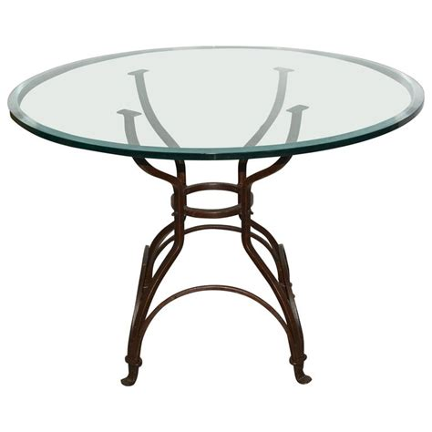 metal table base for sale garden metal base glass top dining table for sale at 1stdibs