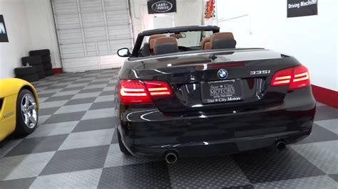 bmw  series  convertible black  brown