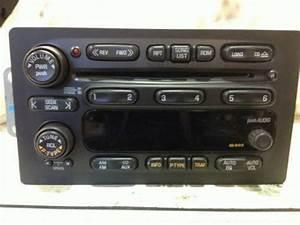 2002 Trailblazer Radio