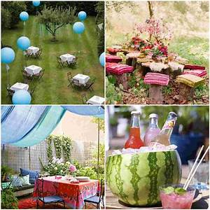 Cool Garden Party Decoration Ideas Diy Fun World