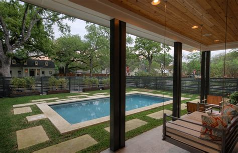 westover residence modern porch austin