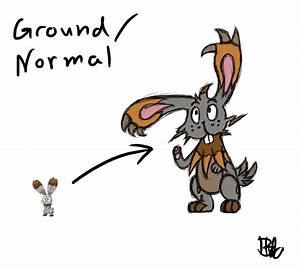 Alternative Bunnelby evolution by Crocaphim on DeviantArt