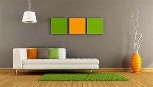 Wandfarbe Grau Grün : moderne wandfarben f rs jahr 2016 welche sind die neuen ~ Michelbontemps.com Haus und Dekorationen