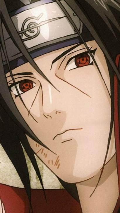 Itachi Uchiha Sharingan Iphone Anime Naruto Aesthetic