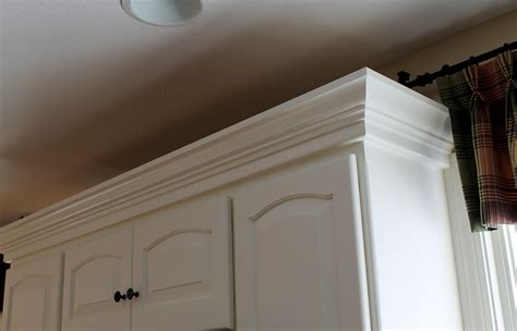 kitchen cabinet crown molding to contemporary crown molding ideas for kitchen cabinets