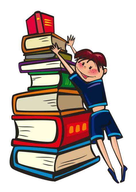 Free School Clip Art Stack of Books
