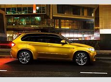 BMW X5 M Wrapped in Gold autoevolution