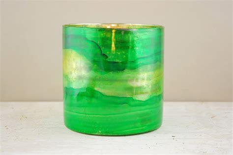 green glass candle holders elixir green vase candleholder 6 quot 3984