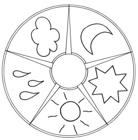 mandalas für kinder zum ausdrucken kostenlose malvorlage mandalas mandala himmel und wetter zum ausmalen
