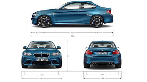 bmw m2 coup 233 technical data