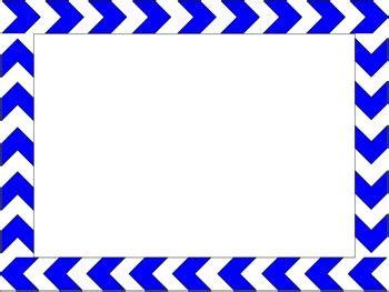 simple chevron borders powerpoint template  activities