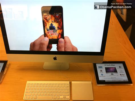 Apple Store 2.0 Launch With Ipad Interactive Displays