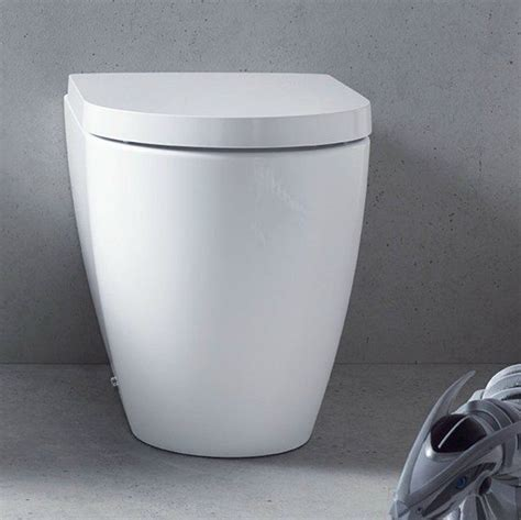 duravit   starck wall faced toilet pan