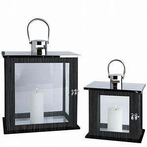 Windlicht Laterne Holz : 2er set laterne edelstahl glas holz windlicht gartenlaterne kerzenhalter ebay ~ Whattoseeinmadrid.com Haus und Dekorationen