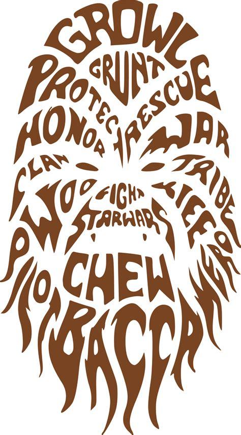 chewbacca star wars svg dxf eps png cut file cricut