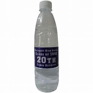 17 best images about 25 year class reunion on pinterest With class reunion water bottle labels