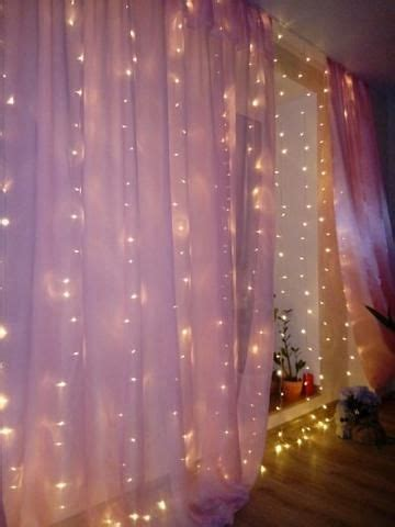 led window curtain string light wedding party home
