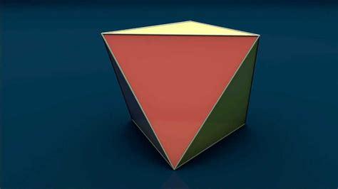 solid shapes octahedron oktaedr youtube