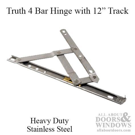 bar commercial window hinge     heavy duty window track truth stainless steel