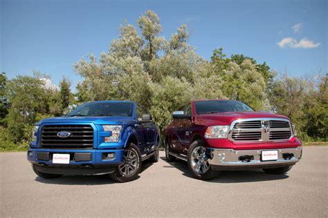 2015 Ford F 150 2.7L EcoBoost vs Ram 1500 EcoDiesel