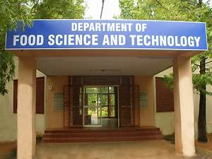 Department of Food Science and Technology | Pondicherry ...