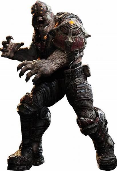 Gears War Render Spotter Locust Yautja Localizador