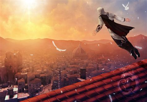 Assassin S Creed Revelations Wallpaper Assassin 39 S Creed Leap Of Faith By Yowsie On Deviantart