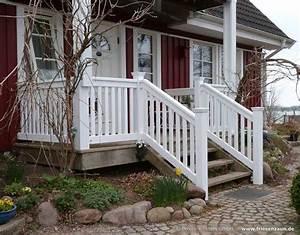 gelander fur balkon garten und terrasse hartholz weiss With garten planen mit flachstahl geländer balkon