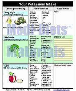 High Potassium Foods List Pdf   Medi-Diets™ Products ...