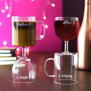 Tasse Cafe Original : tasse caf et vin avant et apr s 5 heures id e ~ Teatrodelosmanantiales.com Idées de Décoration