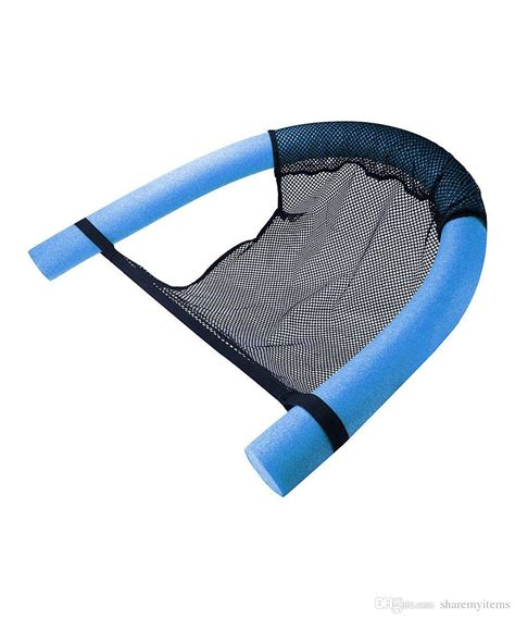 2017 swimming noodle floating chair sling mesh chair pool
