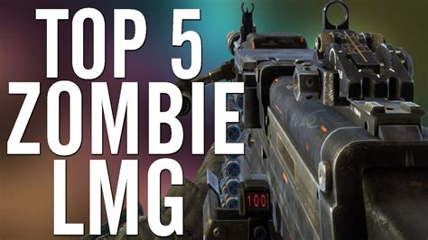 bo1 lmg waw lmgs zombies bo2