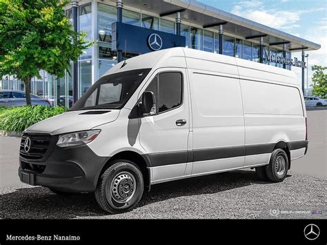 Offered in a variety of sizes with varying roof heights and payloads however, the sprinter is still more expensive than the nissan nv and chevy express. New 2020 Mercedes-Benz Sprinter V6 3500XD Cargo 170 Cargovan in Nanaimo #518090 | Mercedes-Benz ...