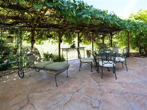 patio grape arbor decor ideas