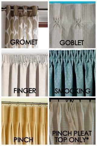 different drapery pleat styles pleated drape styles christine window dresses
